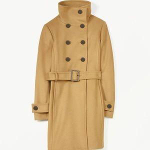 Aritiza Babaton Bromley Wool Coat - camel, size S